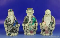0H404 Három keleti bölcs FUK LUK SAU szobor