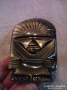 Maja Istenanya Pachamama arany obszidiánból Teotihuacanból
