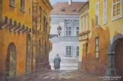 Korognai János (1950-): Hazafelé a budai várban