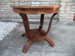 Egyedi Art deco asztal
