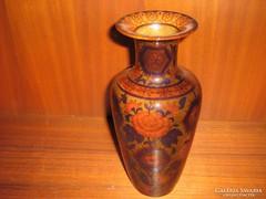 Zsolnay sötét tónusú váza.
