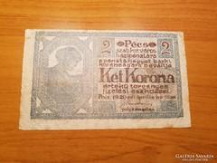 *** 2 korona PÉCS 1920  !!  ***