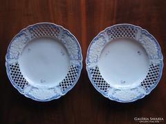 Gyönyörű, eredeti ALTWIEN tányérok (1843)