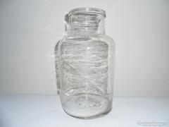 Antik befőttes dunsztos üveg - 5 liter
