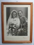 Wehrmacht őrmester fotója.