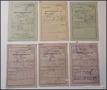 Beszolgáltatási lap , terménybeadási lap 1946 - 1950. ig.