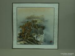 Őszi tájkép, kínai festmény