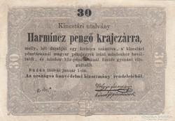 KOSSUTH-  bankó 30 pengő-krajczár !! EREDETI !!! a UNC/UNC