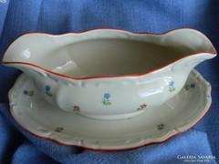 Antik porcelán szószos kiöntő (1937-45)