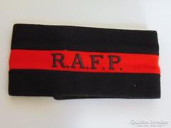 Brit RAPF  katonai  megkülönbözető karszallag