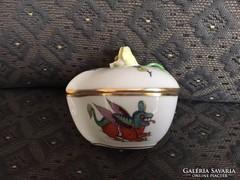 Antik Herendi kínai sárkány motívumos bonbonier - dragon