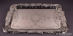 Bécsi ezüst tálca