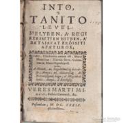 Íntö s taníto levél - Az eretnekek 1639. Pozsony