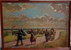 Tibor Ernő Eredeti Festménye