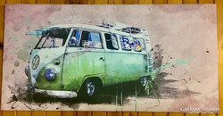 Bogár busz nyomtatott kép
