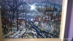 Három az egyben képcsarnokos festmények