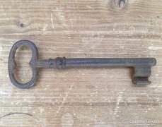 Antik nagy vas kulcs