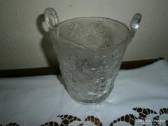 Antik üveg gyümölcsmosó