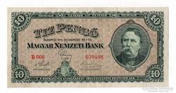 1926 10 pengő VF+