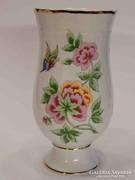 Hollóházi váza Hortenzia mintával