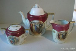 Porcelán szett( Altwien)