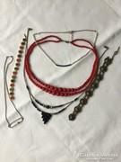 Kézműves nyakláncok,karkötők stb.