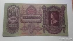 Száz Pengő 1930. július 1. Csillagos