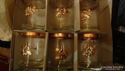 Vadász üvegpoharak