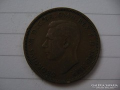 Anglia Fél penny 1941 !!