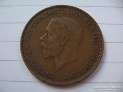 Anglia 1 Penny  1928 !!!