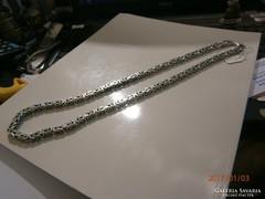 Ezüst királylánc nyaklánc