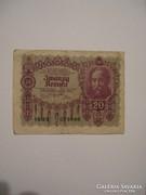 Ausztria 20 Kronen 1922.