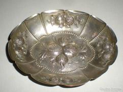 Kézzel készített ezüst tálka- jelzett