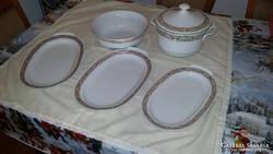 125 db-os porcelán 12 személyes ét-,mokkás és teás készlet