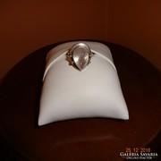 Ezüst gyűrű akvamarinnal...