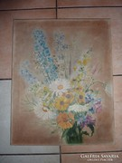 Mezei virágcsokor, olaj-vászon, ismeretlen