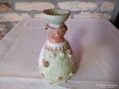 Kiss Roóz Ilona figurális váza