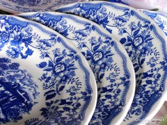 Angol leveses tányérok 6 darab