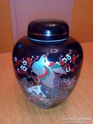Japán porcelán teafűtartó