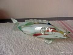 Retro fújt üveg halacska