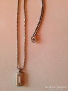 M&S Ezüstözött női nyaklánc