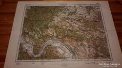Vác és Diósjenő (4862) katonai térkép