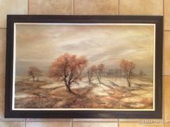 Stéhlik János Eső után festménye