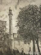 Scultéty Éva (1917 - ) : Minaret