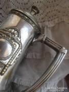 Antik ARGENTOR ezüstözött kávéskanna