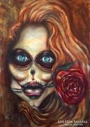 Vio  La muerte című olajfestménye