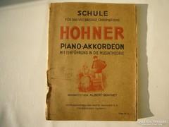 Schule Hohner Piano Akkordeon Albert Bohnet Géczy József