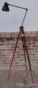 Egyedi Design Állólámpa fotó állvány.ipari géplámpával Loft