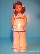 Fábián Zója kerámia figura jelzett 20 cm