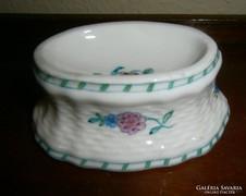 Antik kézzel festett porcelán füszertartó
